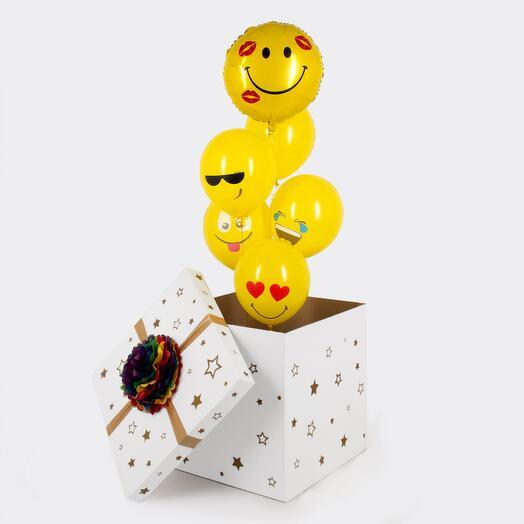 """Коробка-сюрприз  """"Веселые эмоции """""""