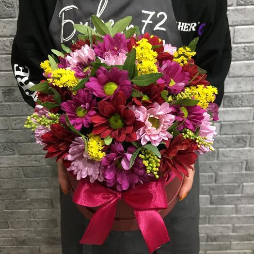 Цветы в коробке 0747757