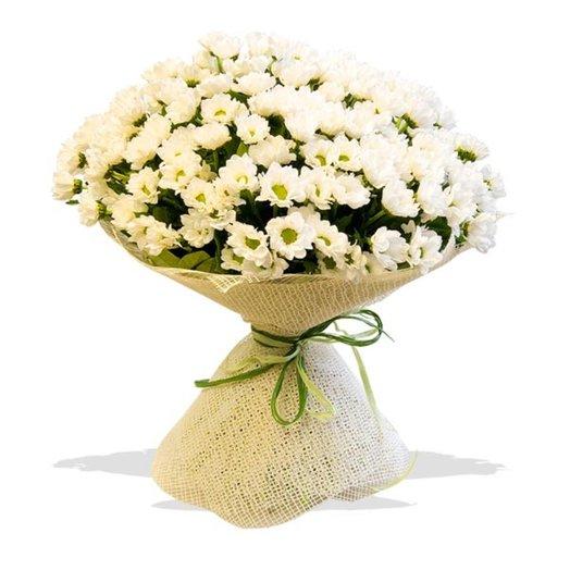 Букет из хризантем Reagan Whight: букеты цветов на заказ Flowwow