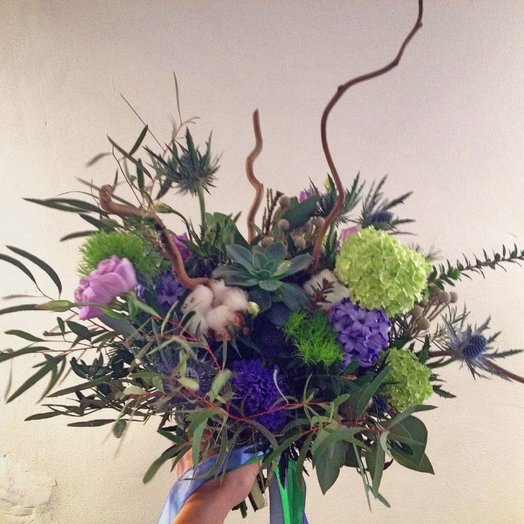 Букет с мужским Характером букет: букеты цветов на заказ Flowwow