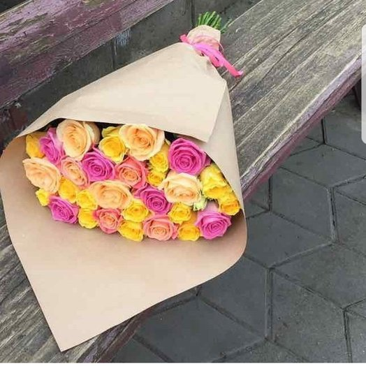 Букет Счастливый: букеты цветов на заказ Flowwow