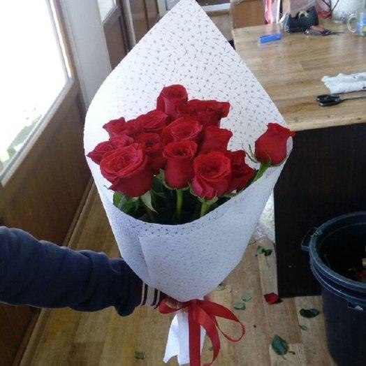 букет классический 15 роз