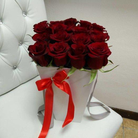 Красный закат: букеты цветов на заказ Flowwow