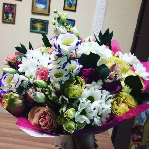 """Букет """"Весенний снежок"""": букеты цветов на заказ Flowwow"""