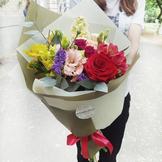 Самой-самой: букеты цветов на заказ Flowwow