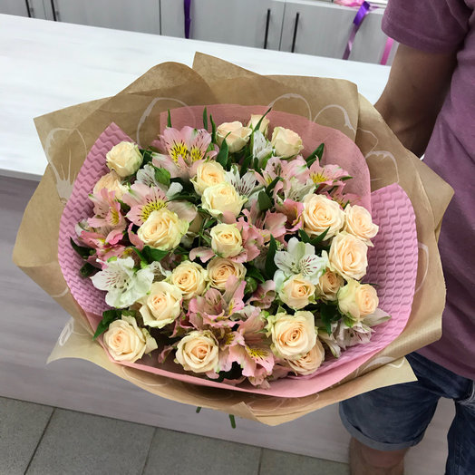 Нежный бриз: букеты цветов на заказ Flowwow