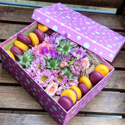 Наслаждение : букеты цветов на заказ Flowwow