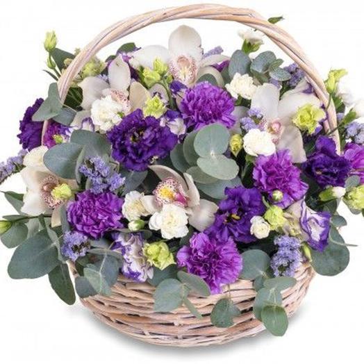 """Цветочная композиция """"Сказочная поляна"""": букеты цветов на заказ Flowwow"""