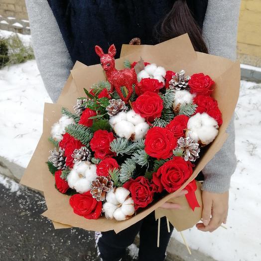 Снегопад: букеты цветов на заказ Flowwow