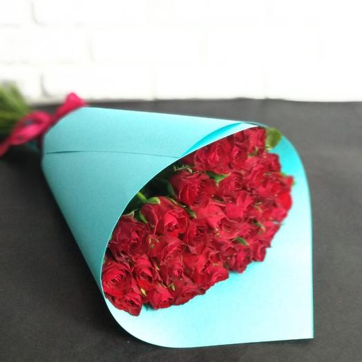 """""""Madam Red"""": букеты цветов на заказ Flowwow"""