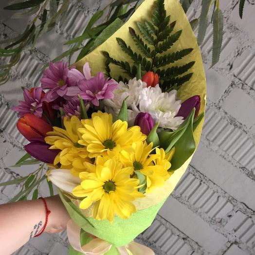 Здравствуй весна: букеты цветов на заказ Flowwow