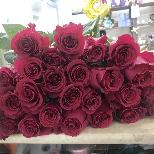 Букет из 15 роз 80 см: букеты цветов на заказ Flowwow