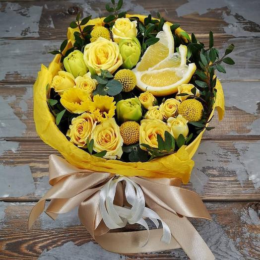 Лучик в коробке: букеты цветов на заказ Flowwow