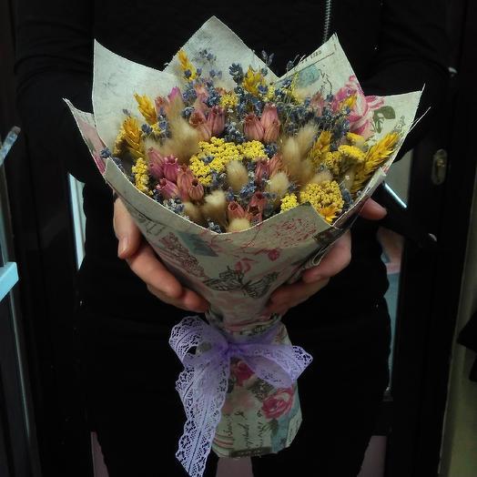 Романтика прованса: букеты цветов на заказ Flowwow