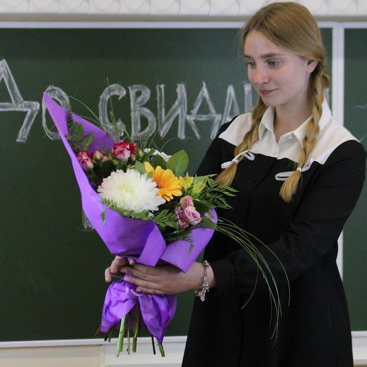 Букет для преподавателя 6: букеты цветов на заказ Flowwow