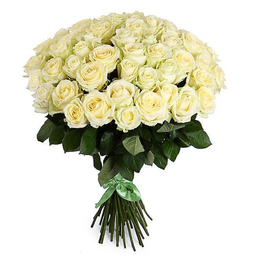 Букет 51 роза Полярная звезда: букеты цветов на заказ Flowwow