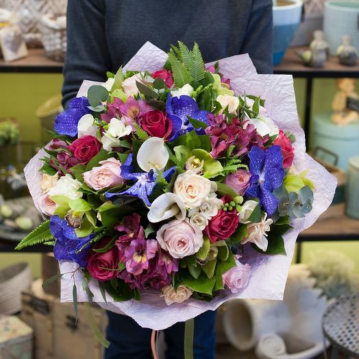 Букет цветов Цветочный блюз