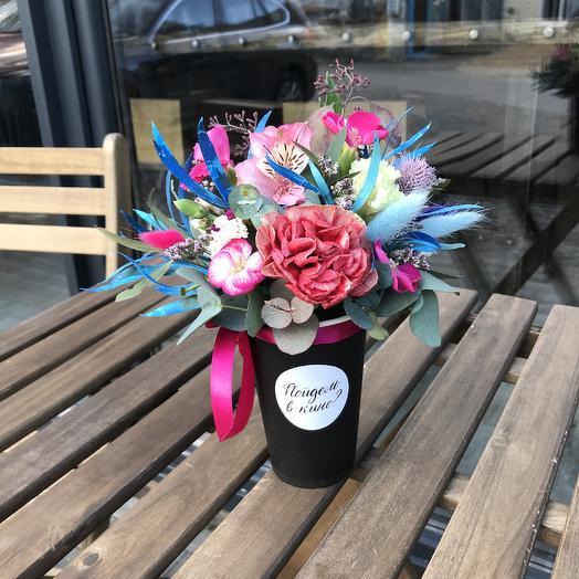 Пойдём в кино: букеты цветов на заказ Flowwow