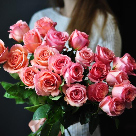 """Роза """"Santana"""": букеты цветов на заказ Flowwow"""
