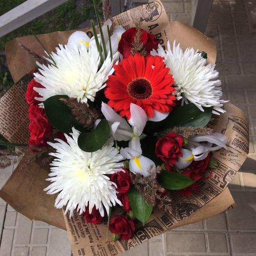 Дыхание Августа: букеты цветов на заказ Flowwow