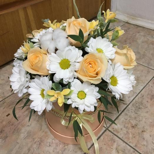 Ванильное утро: букеты цветов на заказ Flowwow