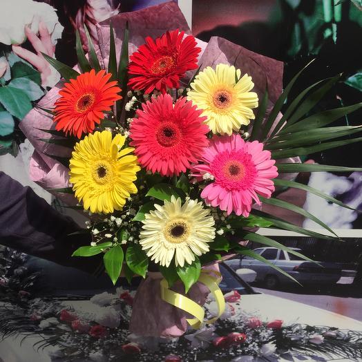"БУКЕТ ""ВЕСЕЛЫЙ"": букеты цветов на заказ Flowwow"
