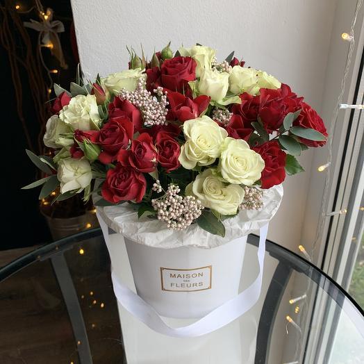 Нежность и страсть: букеты цветов на заказ Flowwow