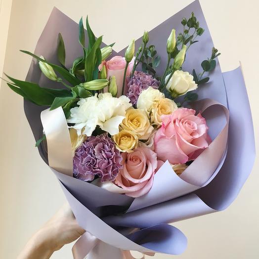 Букетик 7: букеты цветов на заказ Flowwow