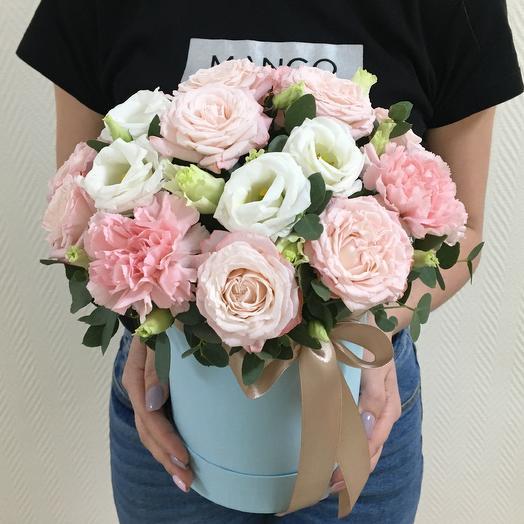 Нежное небо: букеты цветов на заказ Flowwow