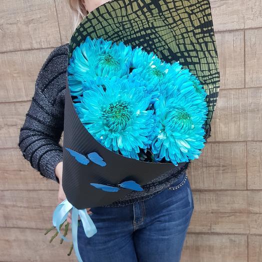 Необыкновенная хризантема: букеты цветов на заказ Flowwow