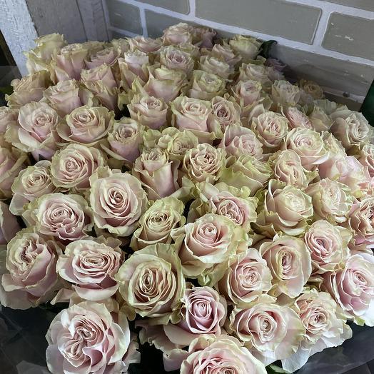 Букет из 51 розы 100см: букеты цветов на заказ Flowwow