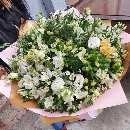 "Шикарный букет ""Лето в руках"": букеты цветов на заказ Flowwow"