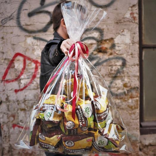 TV-набор дня: Большой пакет с чипсами: букеты цветов на заказ Flowwow