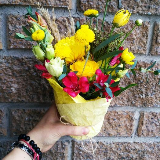 Цветочный комплимент: букеты цветов на заказ Flowwow