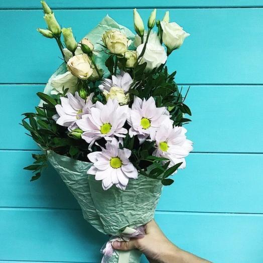 Мини букет из разных цветов: букеты цветов на заказ Flowwow