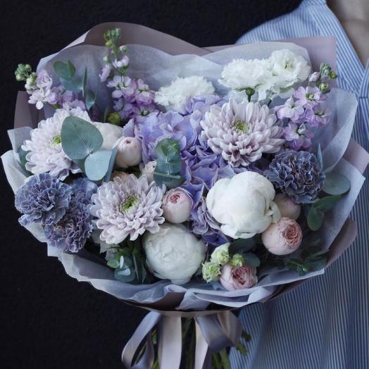 """Букет цветов """"Очарованная луной"""""""