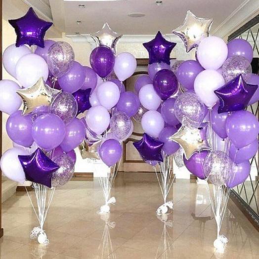 Фиолетовое тусе 100