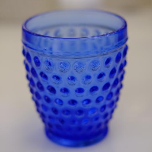 Стакан стекло синий