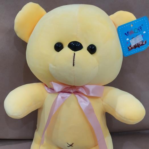 Ярко жёлтый медвежонок