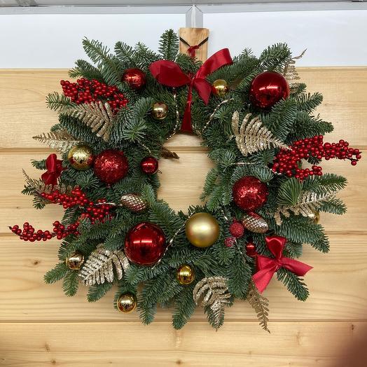 Рождественский венок🎄😍