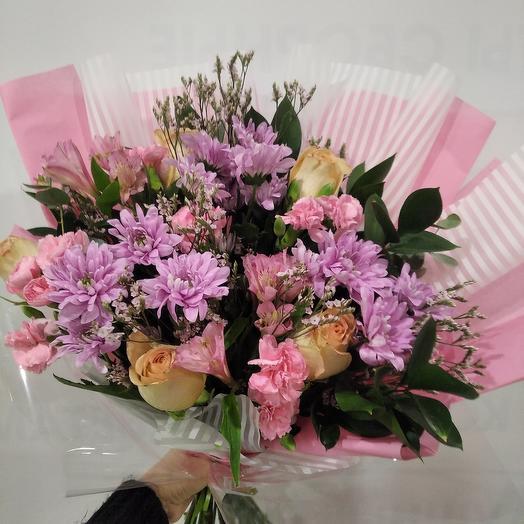 Prefabricated bouquet