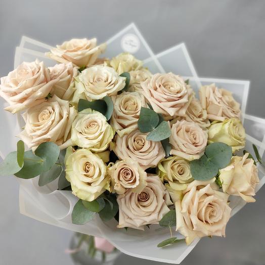 Фарфоровая винтажная Роза Квик Сенд