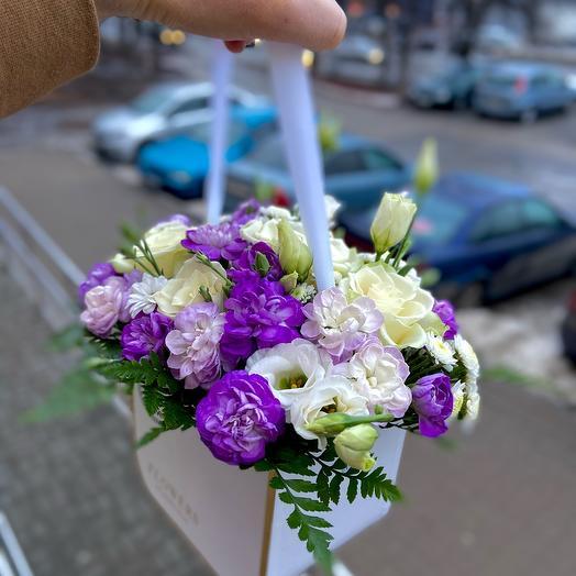 Фиолетовая пудра в ней ты и я
