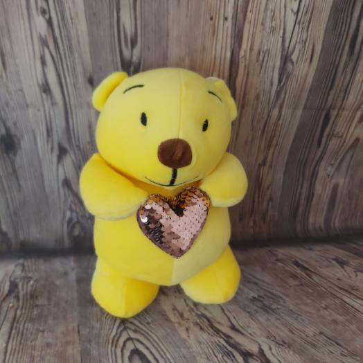 Teddy bear is a soft toy