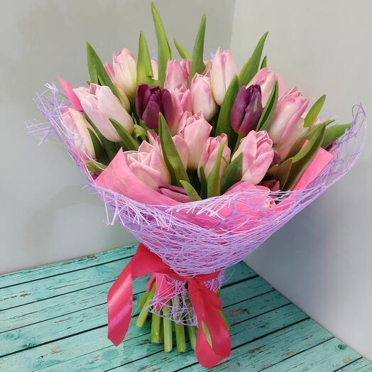 Восторг из тюльпанов
