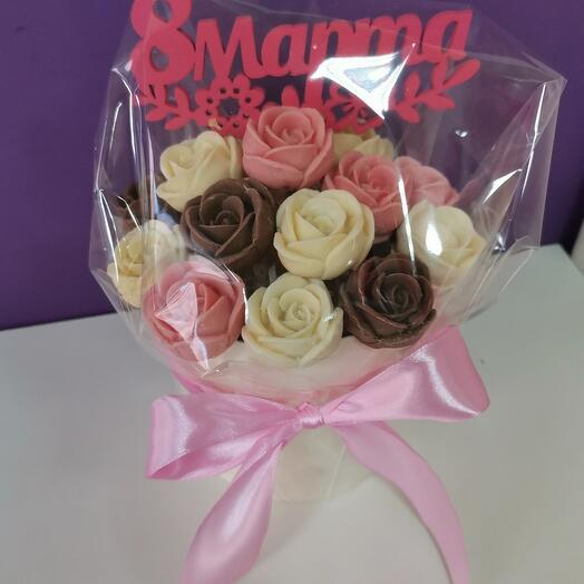 Шоколадные розы