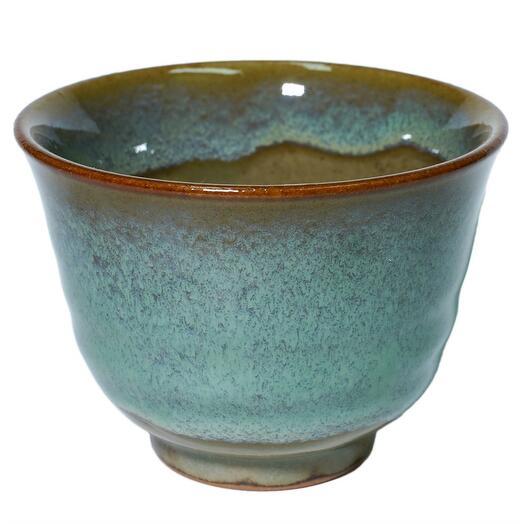 """Пиала """"бирюза"""", глина, 120 мл, Япония 1 шт"""