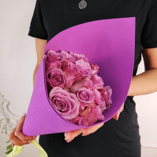 Букет из 15 Лавандовых роз