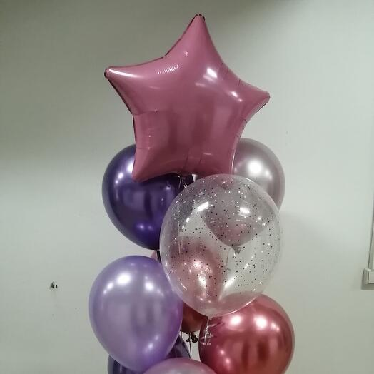Пурпурная звезда