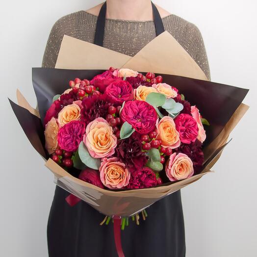 Авторский букет «Краски цветов»